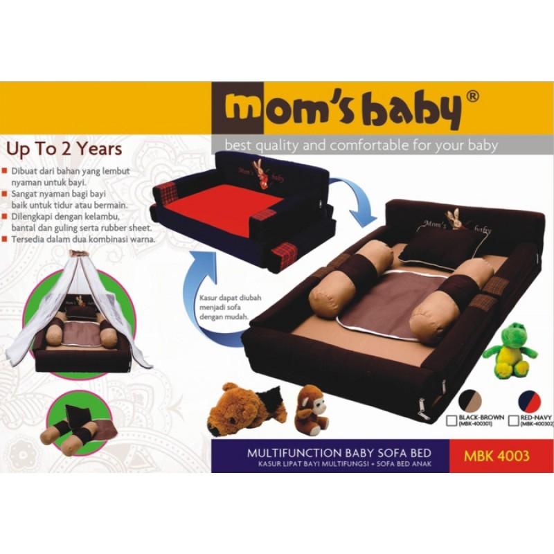 Kasur Bayi Lipat Multifungsi Sofa 2 In 1 Moms Baby