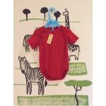 Baju Bayi Jumper/Jumpsuit Warna Polos 0-6 Bulan