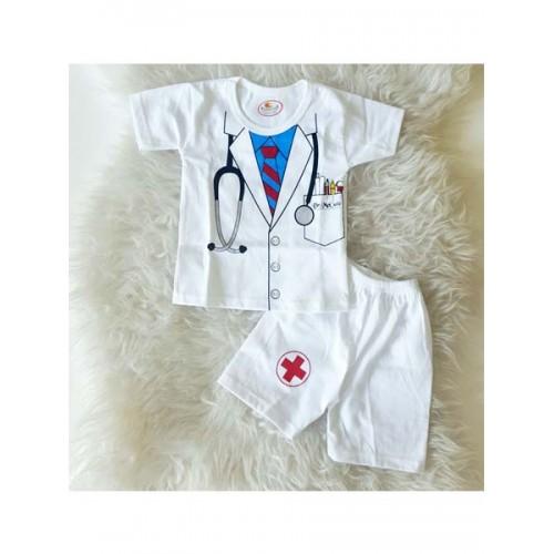 Baju Bayi Lucu Setelan Dokter