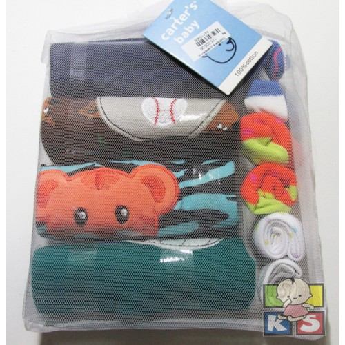 Carter's 4 in 1 Set Baju Jumper Bayi + Kaos Kaki