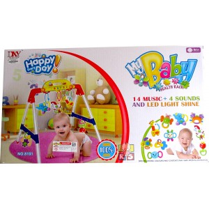 Baby Playgym My Health Baby Rack - Mainan Bayi